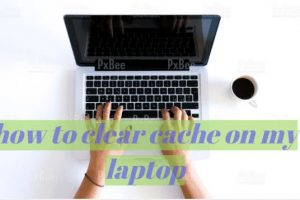 Clear Cache on My Laptop