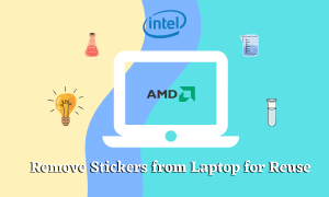 How to Remove Stickers from Laptop for Reuse